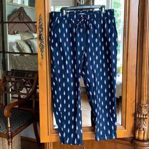 J Crew Drawstring Pants w/Pockets